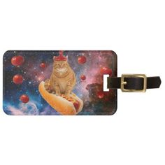 Tomato cat - hot dog cat - catchup - cute kittens luggage tag - cat cats kitten kitty pet love pussy