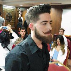 "91 Likes, 9 Comments - Robert Brnardz (@robert_brnardz) on Instagram: ""Al más puro estilo loewe  #barberia #peluqueria #bigote #beard #bearded #soybarbudo…"""