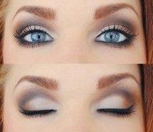 eye liner, eyes, make up, mascara, style (Full Size)