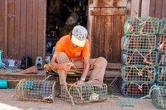 Pescadores e Barcos