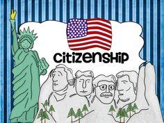 Ideas for teaching citizenship plus FREE printables