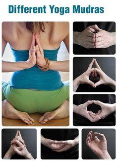 Different Yoga Mudras