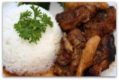 Jamaican Brown Stew Chicken!