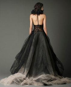 Vera Wang - Dark Wedding Gowns