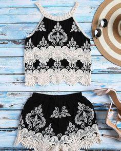 ideal para la playa Cute Summer Outfits, Spring Outfits, Cute Outfits, Emo Outfits, Mode Rockabilly, Teen Fashion, Fashion Outfits, Punk Fashion, Lolita Fashion