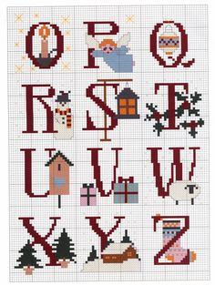 Christsmas Alphabet 3 end