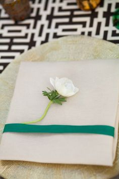 #napkins, #emerald, #green  Photography: Ana & Jerome - anaandjerome.com Event Planning: Signature Event Consulting & Design - signaturemexico.com  Read More: http://www.stylemepretty.com/living/2013/05/31/villa-valentina-birthday-tablescape-from-signature-event-consulting-design/