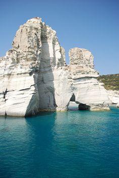 Kleftiko beach, Milos , Greece