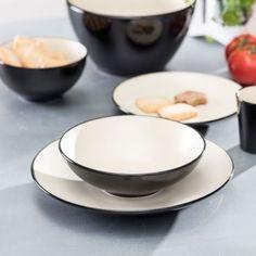 Hlboký tanier Finesse Vanilla 20cm    #keramika#tanier#jedalen#kuchyna#cosyandtrendy#ranajky Cosy, Decorative Plates, Vanilla, Tableware, Kitchen, Dinnerware, Cooking, Tablewares, Kitchens