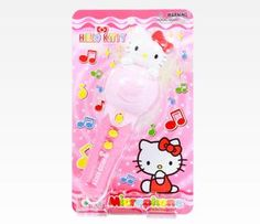 Hello Kitty Toy Microphone with Sound and Light