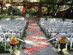 Ceremony, Wedding, Garden, Los, Angeles, Sweet dreams designs beach weddings, Gay