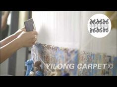 How to make hand knotted silk carpet?