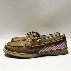 c213700a8ad7 Faded Glory Womens Casual Comfort Shoes Genuine Leather Size 10 Tan   Pink