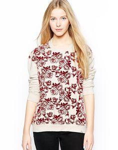 #floral #sweatshirt #asos