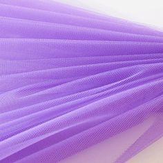 Dress Net - Purple - fabric For tie-backs for Curtains Purple Fabric, Curtain Tie Backs, Fabric Shop, Haberdashery, Sewing Hacks, Dressmaking, Fancy Dress, Room Ideas, Tulle