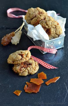 Chi ha rubato le crostate?: Cookies vegani allo zenzero e caramello