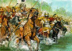 Orden de Batalla. Historia Militar: El Ejército de Alejandro Magno. El cruce del Gránico. (Peter Connolly).