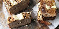 I Quit Sugar: Simplicious recipe: Not Quite Banana Bread by Sarah Wilson Banana bread with hidden veggies (parsnip) which makes it lower in fructose Banana Bread Recipes, Brownie Recipes, Chocolate Recipes, Dessert Recipes, Desserts, Vegan Chocolate, No Sugar Foods, Low Sugar, Yummy Treats