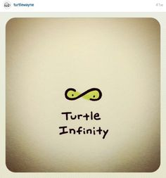 Turtle infinity and beyond (Say fast) Mini Turtles, Cute Turtles, Baby Turtles, Cute Turtle Drawings, Easy Drawings, Animal Drawings, Kawaii Turtle, World Turtle Day, Cartoon Turtle