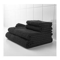 IKEA - FRÄJEN, Asciugamano, Un asciugamano di spugna di medio spessore, morbido e molto assorbente (peso g 500/m²).Le fibre lunghe e fini di cotone pettinato permettono di ottenere un asciugamano morbido e durevole.