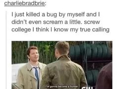 It was so cute the way he said it, though. #Castiel #Supernatural