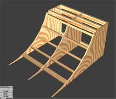 Diy or Pipe Easy: this instructable will show you how to easily make a perfect quarter pipe with: sheets of inch 4 by wood sheets of inch 4 by 8 ply wood 2 by each 5 ft 11 inches long 2 by at least 5 ft long. Scooter Ramps, Bmx Ramps, Skateboard Ramps, Scooter Scooter, Skateboard Art, Half Pipe Plans, Backyard Skatepark, Skate Ramp, Skate Surf
