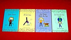 Lot 4 JUST GRACE Series Chapter Books #1-4 Charise Harper Ages 7-11 FREE Ship Chapter Books, Book Girl, Dog Walking, Book 1, Good Books, Ship, Age, Girls, Toddler Girls
