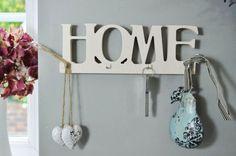 Home Wooden Key Rack (con idea ingresso)