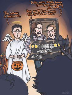 It's a very fandom Halloween