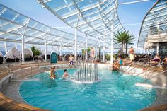Adults-only Solarium #cruising #travel. Royal Caribbean Cruise Lies. Contact rick@rlstravel.com for more information and to book that cruise.