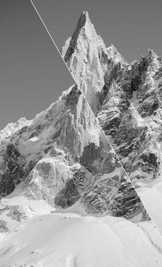 #graphic #design #photography mountains