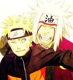 Naruto & Master Jiraya <3