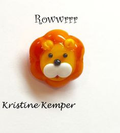 Lion Lampwork bead will be a Beads of Courage Donation #BOC