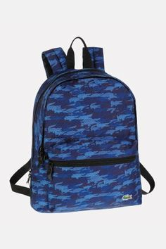 Lacoste BackCroc Small Backpack : Bags & Wallets