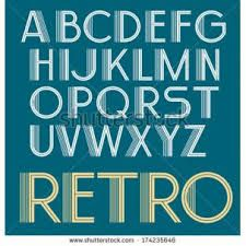 Image result for retro typography examples