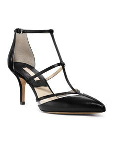 Michael Kors Sahar Pointed-Toe T-Strap Sandal - I NEED this shoe!!!