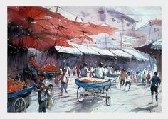 Busy Market : Amit Kapoor