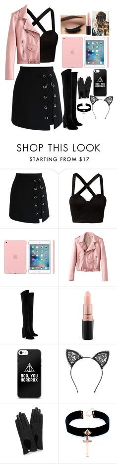 """""""Follow celebrityy-icxnz Kay thanks"""" by xxjerrriexx ❤ liked on Polyvore featuring Chicwish, Mimi Blix For Nelly, Aquazzura, MAC Cosmetics, Fleur du Mal, Mulberry and VSA"""
