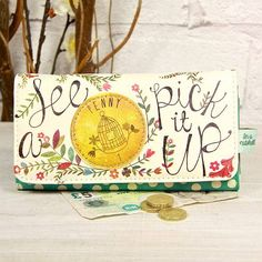 'see a penny' wallet by lisa angel homeware and gifts   notonthehighstreet.com