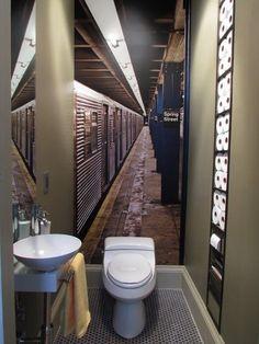Tirer profit d'une petite salle de bain. Source: Houzz