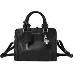 Alexander McQueen Mini Padlock Ziparound bag ($1,295) ❤ liked on Polyvore featuring bags, handbags, shoulder bags, black, zip purse, handbags purses, purse shoulder bag, mini shoulder bag and alexander mcqueen handbags