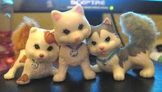 Vintage Littlest Pet Shop - before they got the giant freaky heads & eyes!