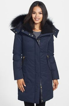 Free shipping and returns on Mackage 'Kerry' Genuine Fox Fur Trim Down Parka at Nordstrom.com. A silky ruff of fox fur at the hood and soft, fuzzy fleece lining the collar makes an exquisitely cozy start for a beautifully constructed down coat trimmed with lambskin leather. Princess seams refine the fitted silhouette.
