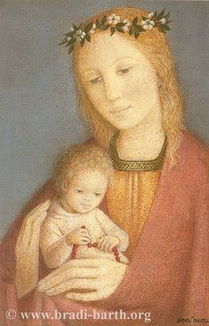 The Blessed Mother, tenderly holding her beloved Son. Painted by a devout Belgian artist. Blessed Mother Mary, Blessed Virgin Mary, Calming Images, La Madone, Ancient Goddesses, Mama Mary, Queen Of Heaven, Mother Goddess, Holy Mary