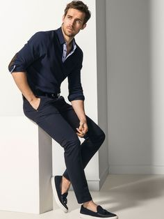 Andrew Cooper for Massimo Dutti - SLIM-FIT STRUCTURED JEANS