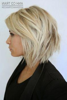 Layered Medium Bob Haircut Layered Short Hairstyles For Women Styles Weekly