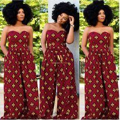 Latest Ankara jumpsuit ~ Latest African fashion, Ankara, kitenge, African women dresses, African prints, African mens fashion, Nigerian style, Ghanaian fashion. #ankarafashion,