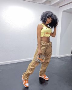 Black Girl Fashion, Tomboy Fashion, Teen Fashion Outfits, Look Fashion, Streetwear Fashion, Swag Outfits For Girls, Cute Swag Outfits, Trendy Outfits, Chill Outfits