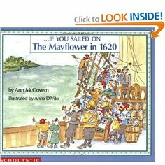 . . . If You Sailed on the Mayflower in 1620: Ann McGovern,Anna DiVito: 9780590451611: Amazon.com: Books