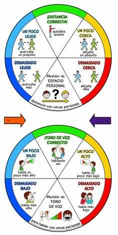La tribu de los superpapás: Medidores de autocontrol - autismos no autismo Feelings And Emotions, Distance, Aspergers, Spanish Immersion, My Tea, Learning Spanish, Social Skills, Speech Therapy, Super Powers